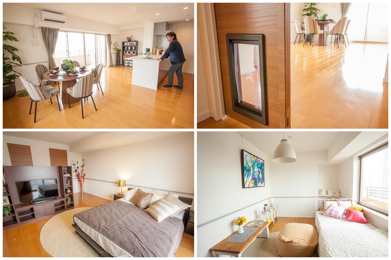 【1816号室】  106.671㎡  家賃:¥364,000  共益費:¥20,000