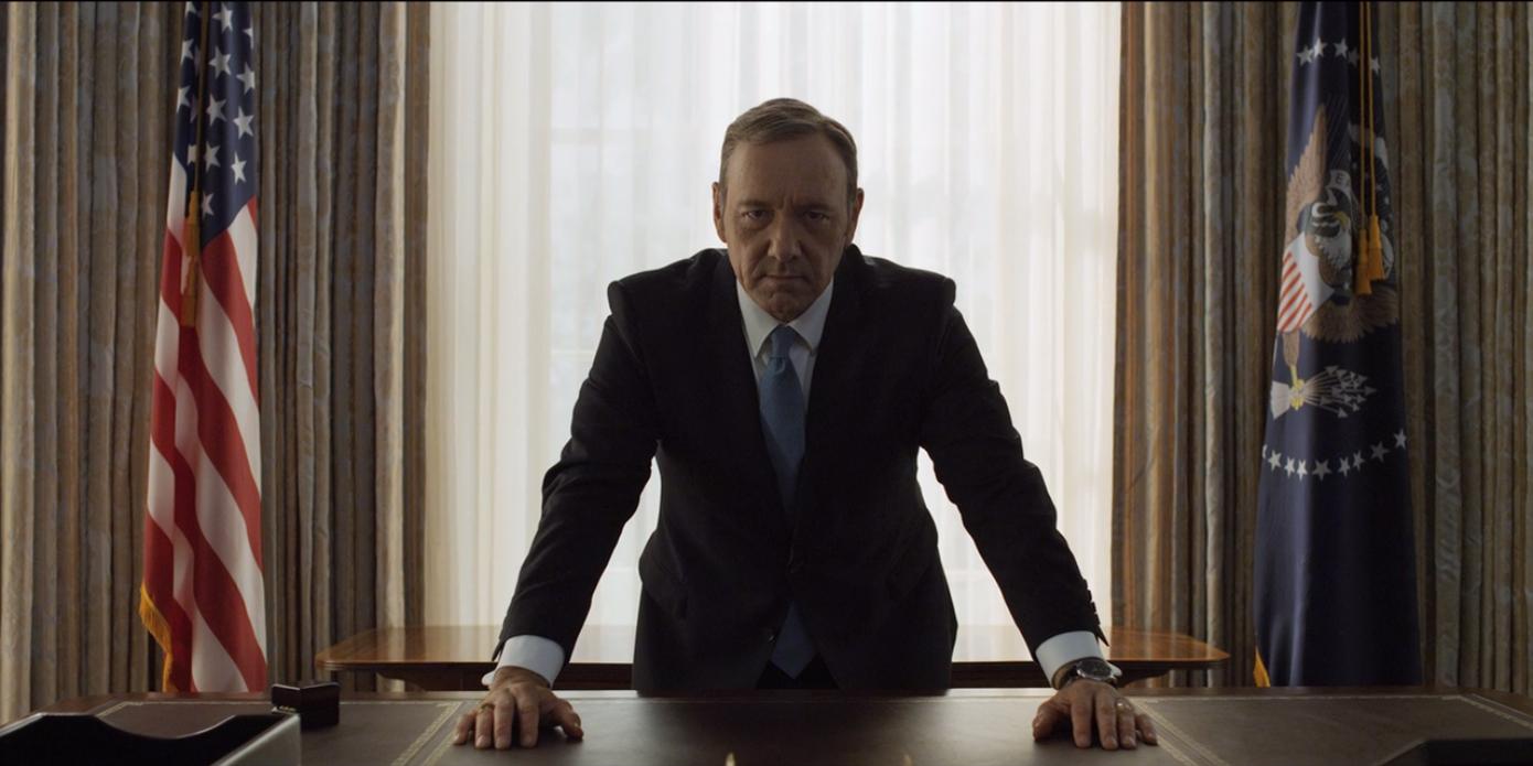 Netflixオリジナル「ハウス・オブ・カード 野望の階段」