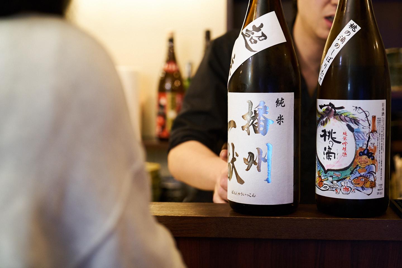 お酒の味わいだけではなく、そのお酒にまつわるエピソードを聞きながら、飲んでみたい1本を選ぶ。これが上手な日本酒の楽しみ方