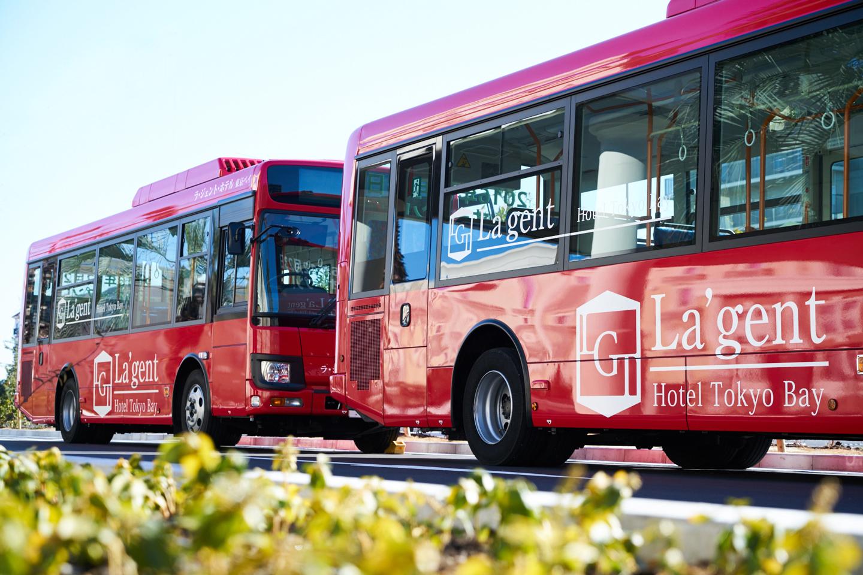 ホテル→舞浜駅→東京ディズニーランド→東京ディズニーシー→ホテルの順に巡回