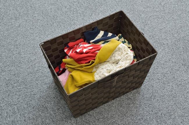洗濯物をランダムに投入しても全自動で折りたたみ、仕分けまでしてくれる