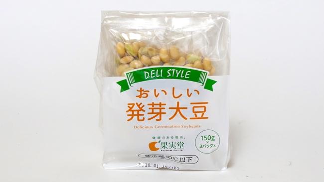 ↑大豆のおいしさをしっかりと味わえる味の濃さです。