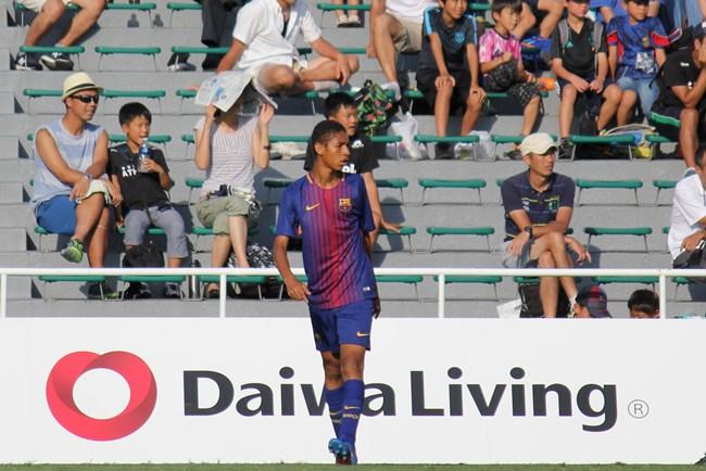決勝ゴールを挙げ優勝に貢献したアマドゥ・バルデ選手。