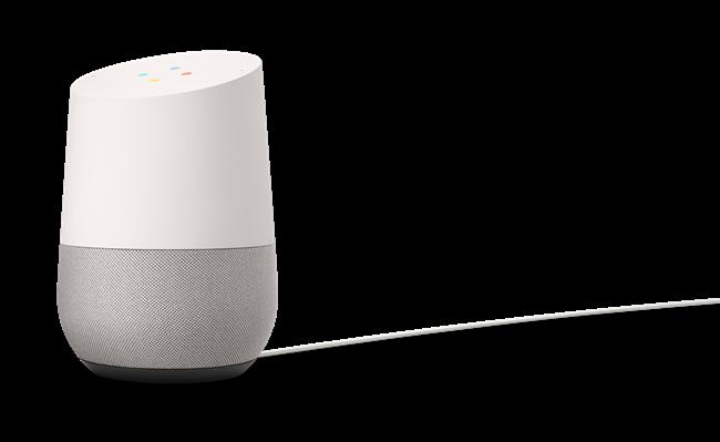 Google Homeのサイズは直径96.4mm、高さ142.8mm。利用にはWi-Fi環境が必要になる