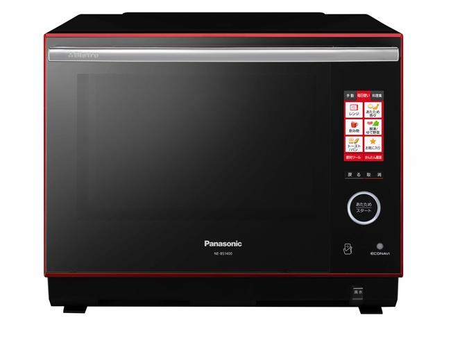 NE-BS1400は、予熱で庫内全体の温度をしっかり上げることで、食品を入れた後の庫内温度の低下が少なくなる。そのため、短時間で焼き上げることができる