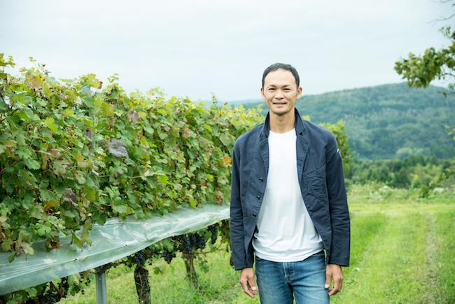 ブドウ栽培、醸造責任者の田向 俊さん