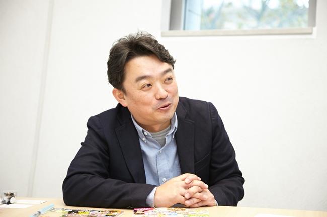 『小学8年生』の編集長、斎藤 慎さん