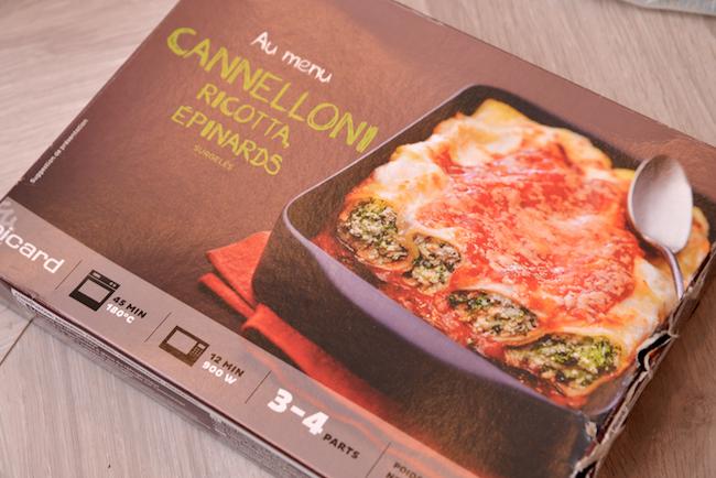 「リコッタチーズとほうれん草のカネロニ(トマトソース)」850g/1059円