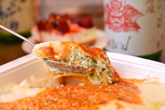とろりとしたチーズの濃厚な味わいが広がります