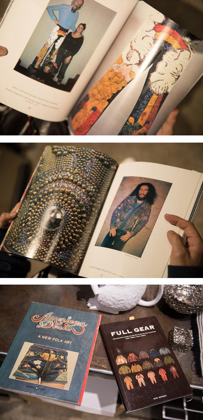 アメリカのヒッピーたちが思い思いにリメイクしたデニムを集めた写真集「American Denim」。所有者たちの誇らしげな表情がまたいい