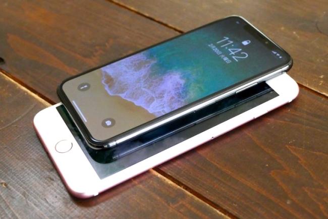 iPhone Xには、ほかのiPhoneシリーズと違い画面下部に「ホームボタン」がない