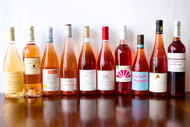 これほど色味に幅のあるワインはロゼだけ