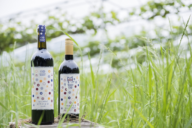武蔵ワイナリーのワイン「小川 小公子」。2016年と2017年ヴィンテージは委託醸造によるもので、それぞれ2848本、1314本と生産量は極少量だ