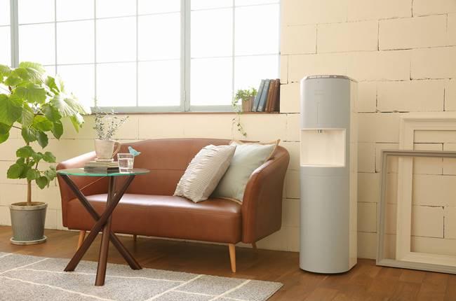 「床置きタイプdewo」は、インテリアと馴染みやすいデザインが人気。電気の節約モードで、従来のサーバーと比べて70%以上の電気代をカットできます