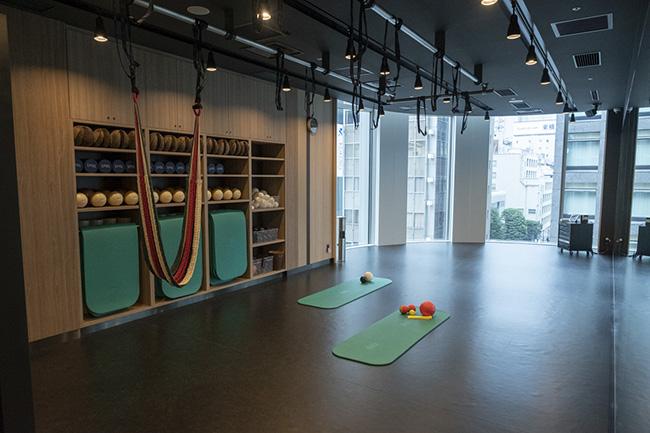 ヨガスタジオだけでなく、オープンスタジオもある。ここでは「To Be プログラム」を実施