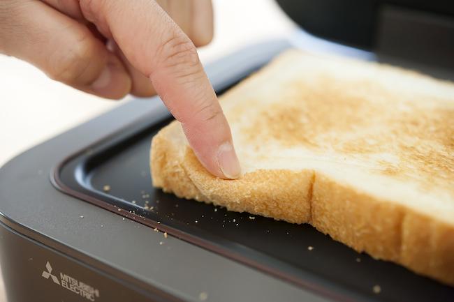 三菱電機「ブレッドオーブン」生トースト
