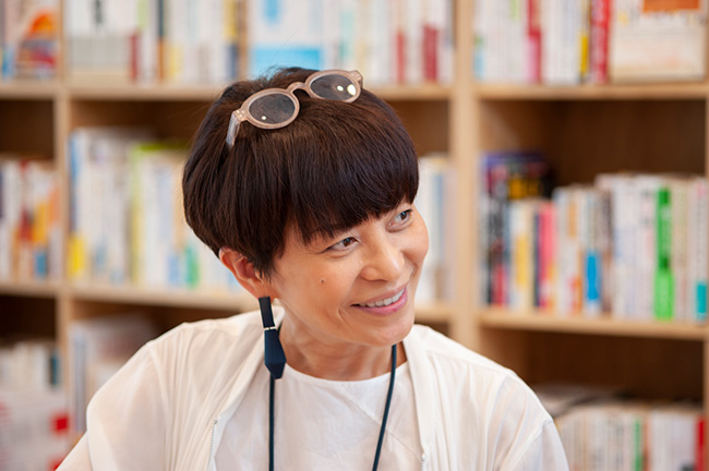 ↑ 工藤さんの大ファンだという元木さん。1年以上前から対談できる日を心待ちにしていたという。