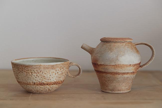 最近買ったお気に入りは糸島の作家さんの風唄窯。