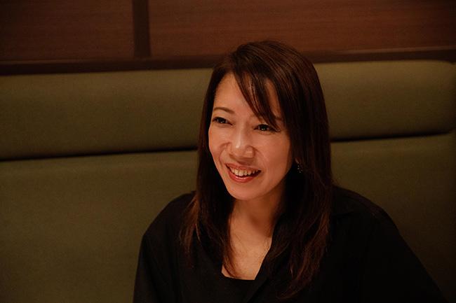 ワインアロマセラピー協会会長の蜂須賀紀子さん。