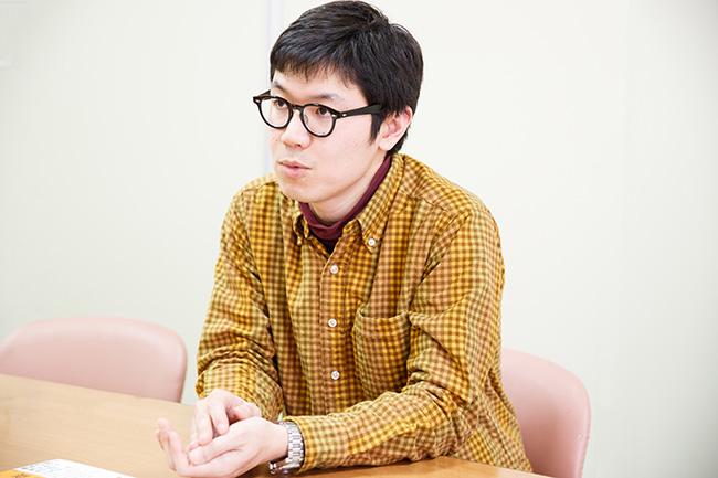 『学びのきほん』の編集担当であり、発案者でもあるNHK出版の白川貴浩さん。