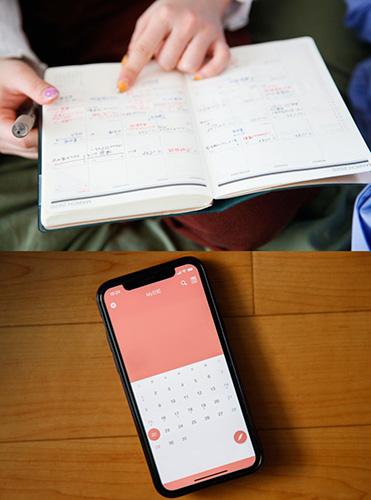 予定は紙の手帳に、日記は「寝る前5分間日記帳」がコンセプトのアプリ「My日記」で。