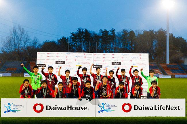 大会を通じて圧倒的な力を見せつけ、栄冠を掴んだ鹿島アントラーズノルテジュニア。日本チームの優勝は大会史上2チーム目だが、単独クラブチームとしては史上初。
