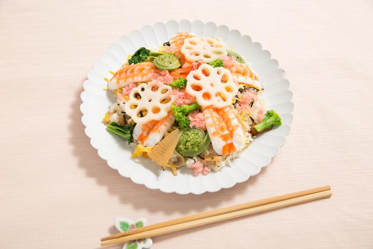 """和ごはん研究家が教える""""節句""""のお祝いに食べたい「ちらし寿司」の正統派レシピ   @Living アットリビング"""