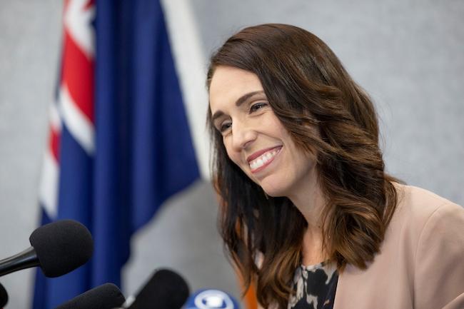 ニュージーランドのジャシンダ・アーダーン首相。