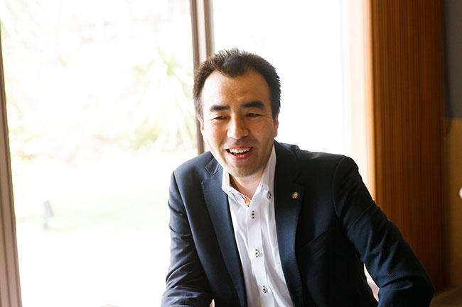 「船橋グランオアシス」をはじめ、大規模な複合開発プロジェクトを多数手掛けている大和ハウス工業(東京本社 東京都市開発部 企画統括部 まちづくりグループ グループ長)の渡邊大吾さん。