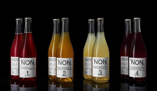 欧米ではノンアルコールドリンクもどんどん先進的に。写真は世界一のレストランとして名高い「ノーマ」のDNAを受け継ぐ「NON」(すべて3456円)