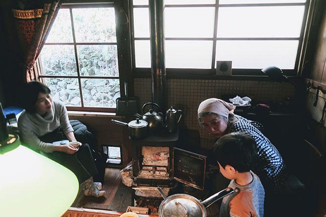 徳島県上勝町でのワーケーションの風景。現地の方の暮らしを見せてもらいに行ったそう。