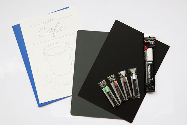 はじめてチョークアートを描く方にも使いやすいセット。