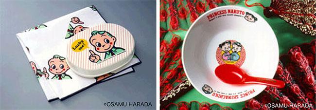 原田氏は1984年から2000年代初頭までミスタードーナツのノベルティにもイラストを提供。誰もが一度は原田氏のイラストレーションを目にしたことがあるはず!